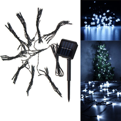 72LEDs Patio Umbrella Cool White Fairy String Light