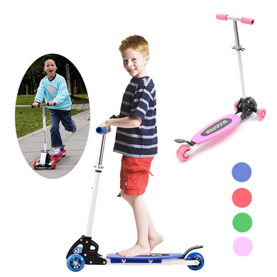 3 Wheels Tricycle Kick Children Scooter