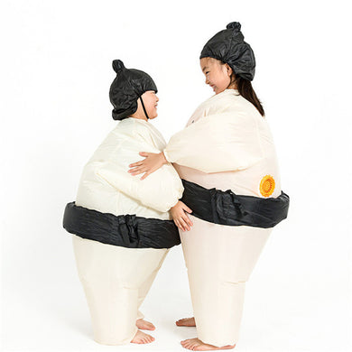 Sumo Inflatable Costume Carnival Party Fancy Animal Clothing