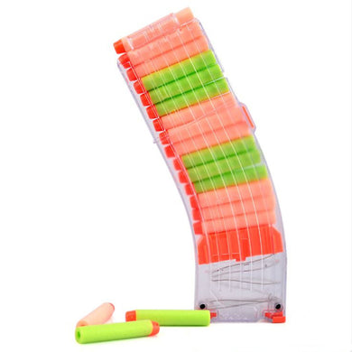 15Darts Plastic Reroad Clip Magazine Part For Nerf