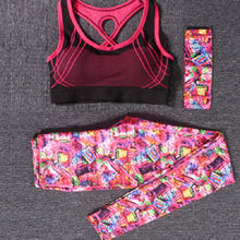 Load image into Gallery viewer, Women's Yoga Clothing Suit