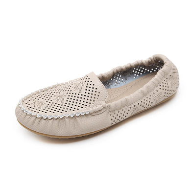 Women's Hollow Out Breathable Soft Lightweight Flats