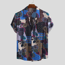 Load image into Gallery viewer, Ethnic Colorful Printed Casual Shirts
