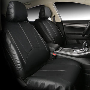 PU Leather Black Car Full Surround Seat Cover