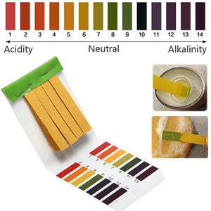 Alkaline Acid Test Paper Water Litmus Testing Kit