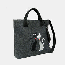 Load image into Gallery viewer, Cat Pattern Handbag