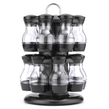 Load image into Gallery viewer, 16 Jar Rotating Spice Rack