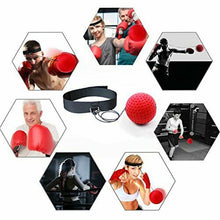 Load image into Gallery viewer, Fight Ball Reflex Speed Reaction Punch Combat