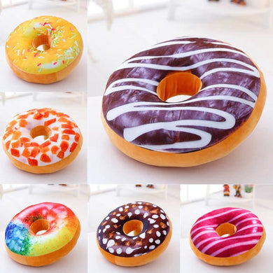 40cm Colourful Plush Creative 3D Squishy Donut