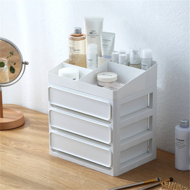 Desktop Cosmetic Drawer Makeup Organizer