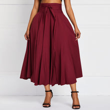 Load image into Gallery viewer, Pleated High Waist Skirt