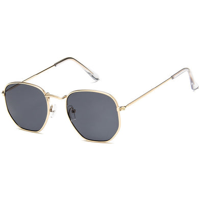 Unisex Metal Frame Multicolor Sunglasses