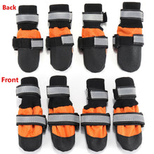 Load image into Gallery viewer, 4Pcs Pet Dog Rain Snow Boots
