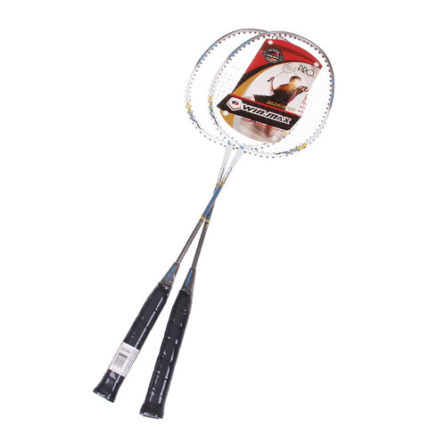Aluminium Alloy Badminton Rackets Set - Zalaxy