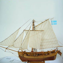 Load image into Gallery viewer, Wooden Assembly Ship Model Building DIY