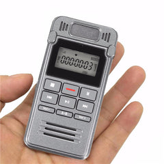 LCD Digital Voice Rechargeable Audio Smart Recorder