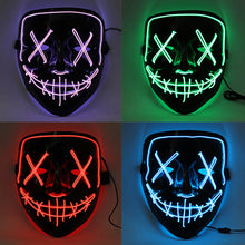 Load image into Gallery viewer, Halloween 4-Modes LED Light Mask