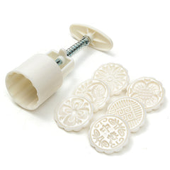 6 Styles Moon Cake Pastries Sugarcraft Baking Mold