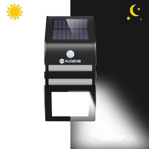 PIR Motion Sensor Solar Light Wireless Waterproof Wall Lamp
