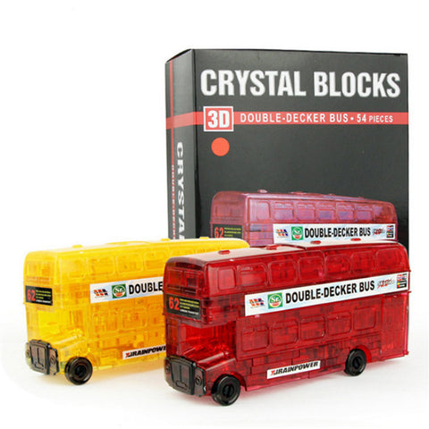Double Decker 3D Crystal Puzzle Jigsaw Blocks