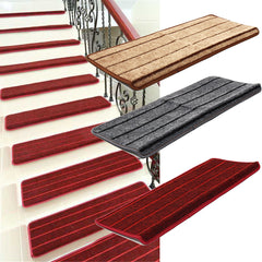 Non-Slip Thread Carpet Mats Step Staircase Cover Pad