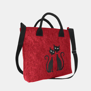 Cat Pattern Handbag