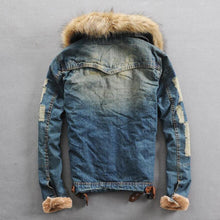 Load image into Gallery viewer, Thicker Warm Denim Coats
