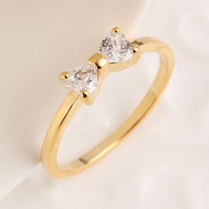 Gold Bow Vintage Ring
