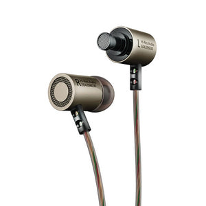 Metal Stereo Earphone Noise Isolation with Microphone