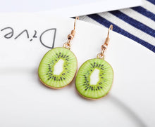 Load image into Gallery viewer, Girl Fruit Earrings