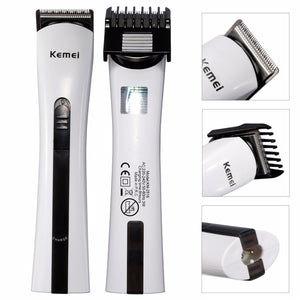 Rechargeable Hair Trimmer Men Baby Clipper