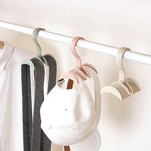 Rotated Storage Rack Bag Hanger