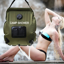 Load image into Gallery viewer, 20L Camp Shower Bag