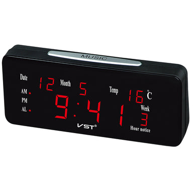 Loud Dual Alarm Clock Automatic Lightness