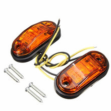 Load image into Gallery viewer, 12V 24V Side Marker Lights Lamp For Car Truck Trailer