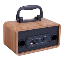 Load image into Gallery viewer, Wooden Wireless Bluetooth Speaker