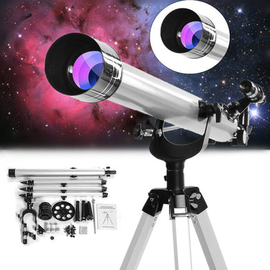 High Magnification Astronomical Zooming Telescope