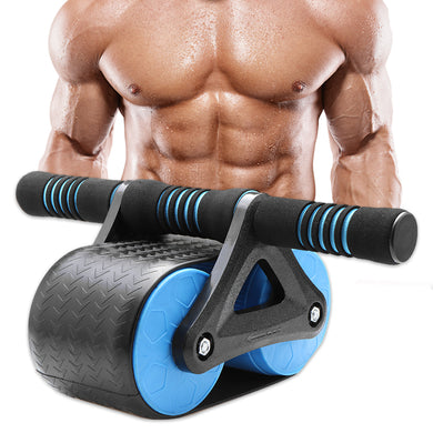 Double Wheeled Back Fitness Power Roller