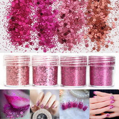 Super Shining Mixed Glitter Powder Sequins