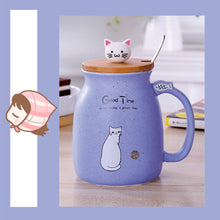 Load image into Gallery viewer, Cat Kitten Ceramic Coffee Mug