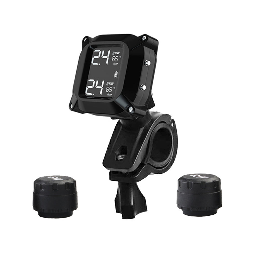 LCD Display Motorcycle Real Time Tire Pressure