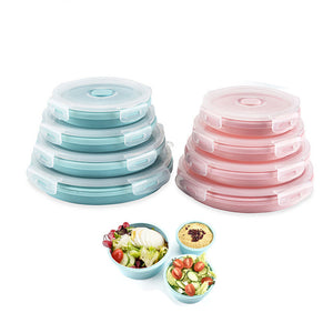 Collapsible Stackable Food Storage