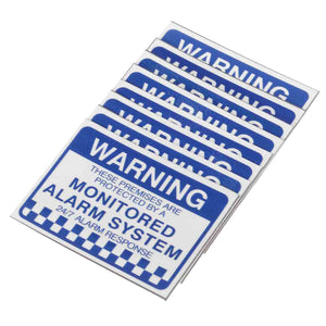 Warning Security Stickers Waterproof Security Sign