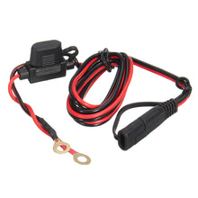 Load image into Gallery viewer, 12V-24V 2.1A SAE to USB Adapter with Extension Harness