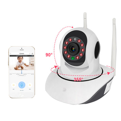 Wireless WIFI HD 1080P Smart IP Camera Night Vision Motion Detect