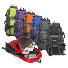 Load image into Gallery viewer, 50L 210D Waterproof Nylon Backpack