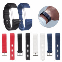 Load image into Gallery viewer, Replacement Silicone Wristband Strap For Fitbit Charge 2