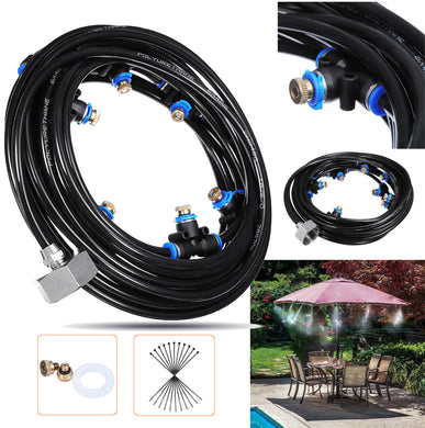 8M Outdoor Mist Coolant System Water Sprinkler