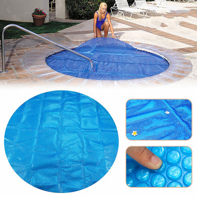 Round Hot Tub Heat Retention Cover