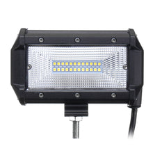 Load image into Gallery viewer, 5 Inch 72W LED Work Light Bars Flood Beam
